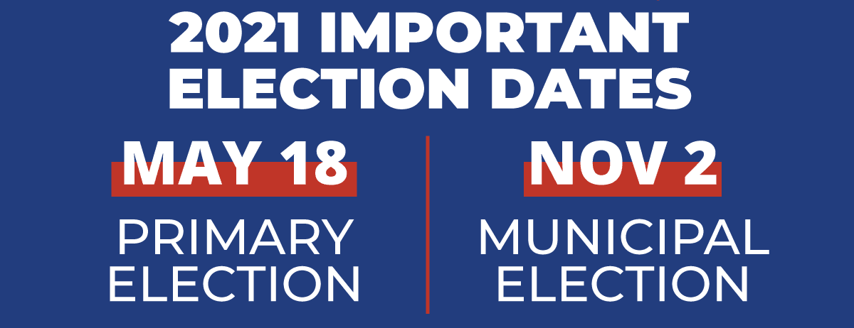 2021 Election Dates Image
